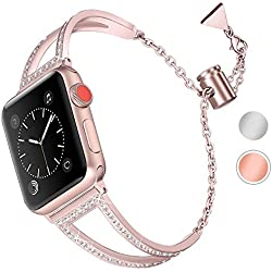 Aottom pour Bracelet Apple Watch Series 4 40mm,Bracelet Montre Apple Watch 38mm Series 3 Bracelet iWatch 40mm Bande Remplacement de Bracelet Apple Watch Series 2 Accessories pour Apple Watch 40mm/38mm