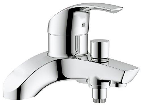 Miscelatore Vasca Da Bagno : Grohe eurosmart miscelatore soprapiano per vasca da bagno o doccia