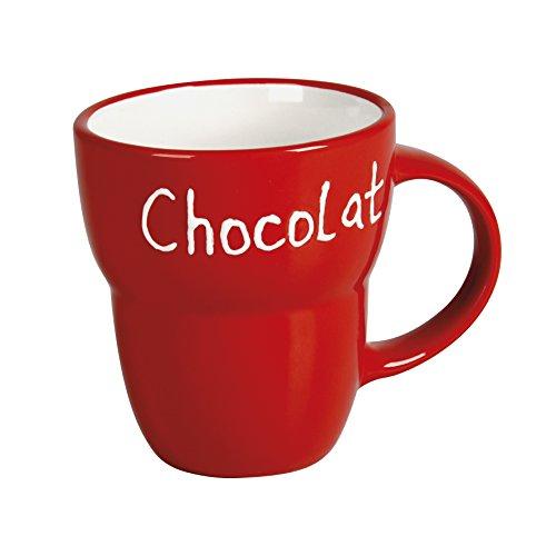 Delys-By-Vercal 514828 Mug en Céramique Rouge 12 cm