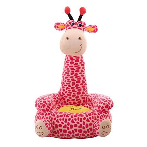 B Blesiya Karikatur Tiere Sitzsack Bezug Sitzsackhülle Sitzsackbezug Abdeckung - Giraffe (Sitz)