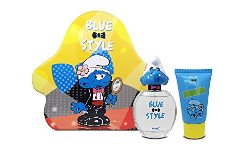 American Beauty Parfums (First American Brands Blue Style Vanity 3D - Die Schlümpfe Beauty Schlumpf 50 ml Eau de Toilette + 75 ml Duschgel Geschenkset für Kinder, 1er Pack (1 x 50 ml))