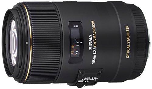 Sigma 105 mm F2,8 EX Makro DG OS HSM-Objektiv (62 mm Filtergewinde) für Sigma Objektivbajonett