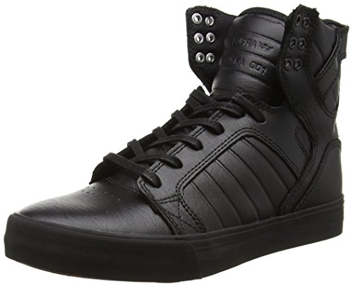 Supra Unisex-Erwachsene Skytop High-Top, Schwarz Black-RED RCS, 47.5 EU -