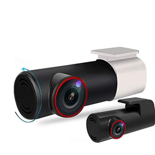 HEIFEN Cámara HD Oculta con luz Nocturna Starlight WiFi Sprint, Lente Delantera y Trasera con rotación Dual de 360 °