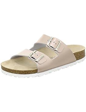 AFS-Schuhe 2100, Sportliche Damen-Pantoletten, Praktische Arbeitsschuhe, Hochwertiges, Echtes Leder