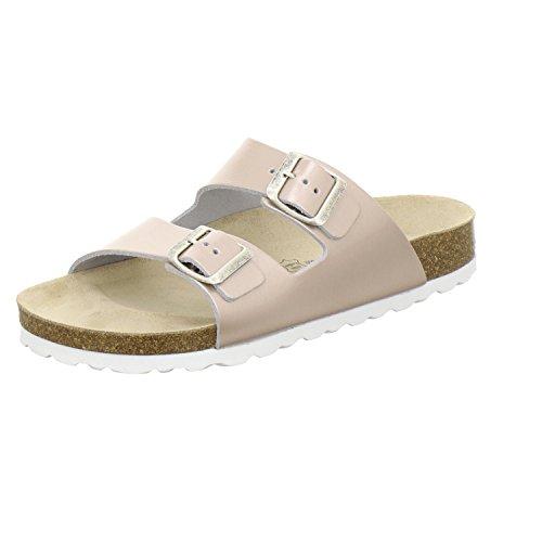 mulas 2100 Em De Mulheres Sapatos Prático Genuíno Trabalho Alta Afs Qualidade Rose Couro De Sapatos Ostentando wXn4qxCAx