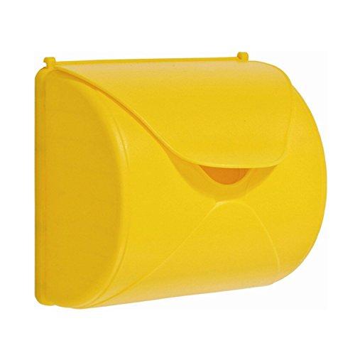 Preisvergleich Produktbild Briefkasten für Kinder Spiel-Briefkasten gelb von Gartenpirat®
