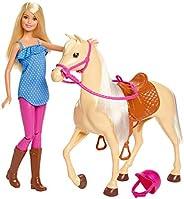 Barbie FXH13 - Barbie-docka med Häst, för Barn mellan 3 till 7 når