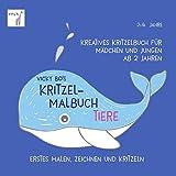 Kritzel-Malbuch ab 2 Jahre - Tiere