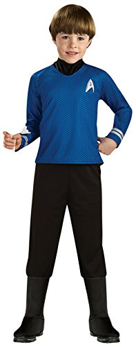 Rubie 's Offizielles Kind 's Star Trek Deluxe Spock–MEDIUM (Star Trek Fancy Dress Kostüme)