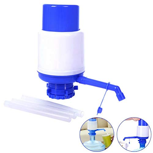 Coogel Drinking Water Hand Press Pump Universal Manual Water Bottle Pump for 5-6 Gallon Water Coolers Bottled Water Dispenser Home Office -