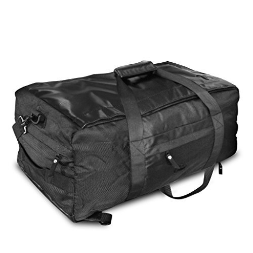 Vatra Skunk Hybrid Backpack/Duffle Black - Smell Proof - Water Proof by Skunk (Duffle Hybrid)