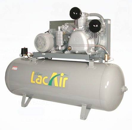 Lacme - Compresseur FixAir 80/500 3Wb 500L - 80m³/h