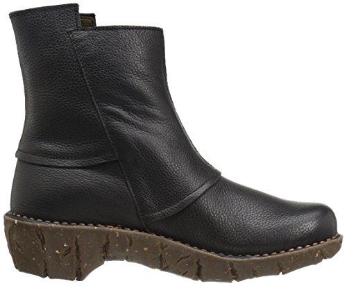 El Naturalista Damen Ne28 Soft Grain Black / Yggdrasil Schlupfstiefel Schwarz (BLACK N01)