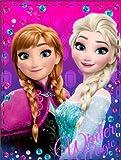 Disney Frozen Kuscheldecke Die Eiskönigin Kuscheldecke 90 x 120 cm
