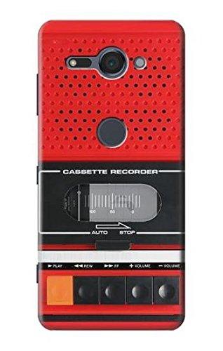 Innovedesire Red Cassette Recorder Graphic Hülle Schutzhülle Taschen für Sony Xperia XZ2 Compact