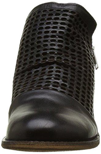 Buffalo Es 30899 Sauvage Perfurado, Bottes Classiques Femme Noir (Preto 01)