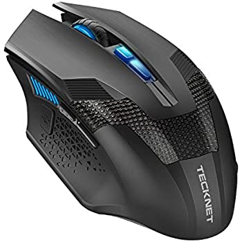 9d16c37082f TeckNet Programmable Wireless Gaming Mouse, RAPTOR Prime 2.4G Cordless Gaming  Mouse with Nano Receiver, 8 Buttons, 4800DPI, 6 DPI Adjustment Levels for  ...