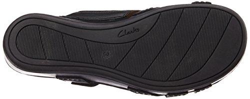 Gâteau Clarks Aux Framboises, Chaussures À Bride À La Cheville Femme Violette (violett (cuir Noir))