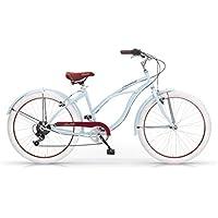 MBM Honolulu Bicicleta para mujer, 45cm, color azul
