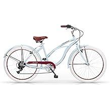 MBM Honolulu Bicicletta, Donna, Azzurro, 45Cm