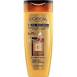 L'Oreal Paris Hex 6 Oil Shampoo, 360ml