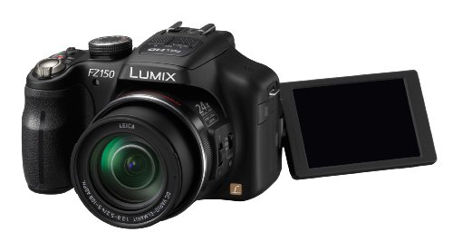Panasonic Lumix DMC-FZ150EG-K ( 12.8 Megapixel,24 -x opt. Zoom (3 Zoll Display) ) Panasonic Lumix Digital Slr