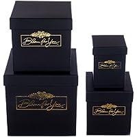 4-teilig Box Set Quadratisch Dek