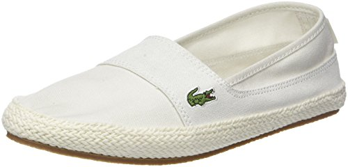 Lacoste Damen Marice 218 1 Caw Sneaker, Weiß (Off WHT/PNK 06c), 36 EU