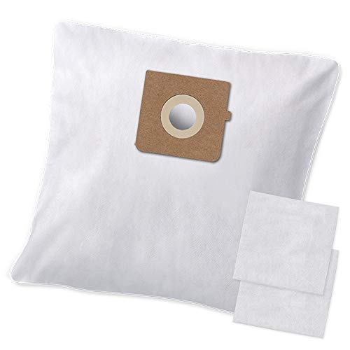 10 Premium Staubsaugerbeutel - Spezielles hygienisches Synthetikmaterial - Geeignet für AFK BS1200 W.30 - Garantierte Bestleistung beim Saugen - Premium Qualität
