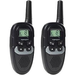 Topcom RC-6410 – Walkie-talkie, Alcance Hasta 6 km, 8 Canales