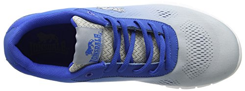 Lonsdale Remi, Chaussures de Running Compétition Homme White (White/Blue)