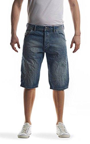 Diesel KROSHORT 0PALU 01 jeans short blau denim