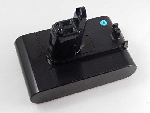 Preisvergleich Produktbild INTENSILO Li-Ion Akku 2500mAh (22.2V) schwarz für Staubsauger Dyson DC43, DC43h Animal Pro, DC45, DC45 Animal Pro wie 202932-02, 917083-01.