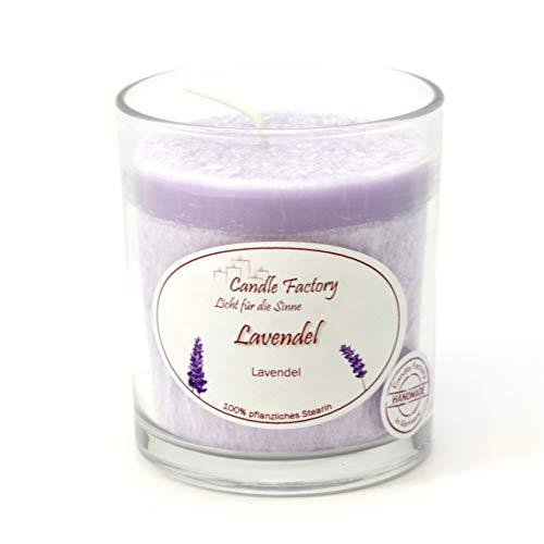 Candle Factory Party Light Kerze Lavendel Raumduft Dekokerze Duftkerze 201-030