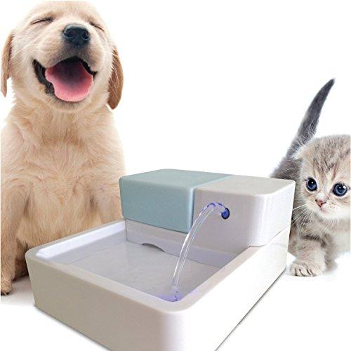 EFGUFHC Led automatische zirkulation pet trinkwasser, Filter Brunnen Bowl Hunde-katzen-trinker-A (Pet-gefiltert-wasser-brunnen)