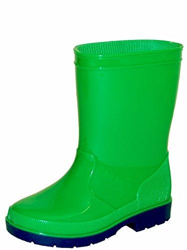 Gevavi Boots LUCA08330 Luca Kinderstiefel PVC, 33, Grün (Lucas Boot)