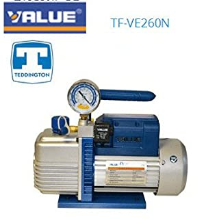 Vakuumpumpe Doppelter Boden mit Manometer und VE260N Ventil SV-TF