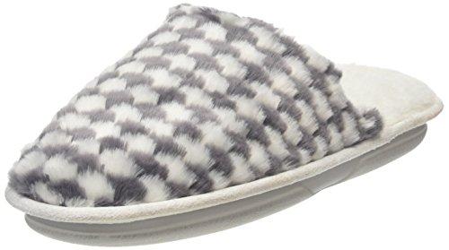 totes-women-ladies-textured-fur-mule-open-back-slippers-grey-grey-stripe-s-uk-36-37-eu