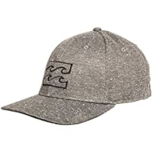 BILLABONG All Day HTHR Stretch Gorras, Hombre, Graphite Heather, L/XL