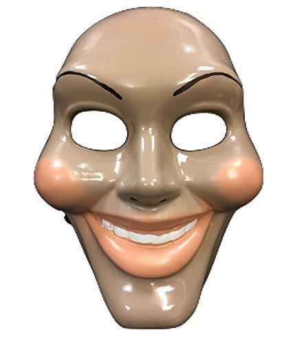 esicht Film Maske - Halloween Kostüm - Universalgröße - Hartplastik (Purge-maske Halloween)