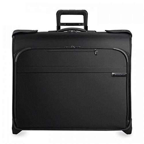 Baseline Deluxe Wheeled Garment Bag, 61cm, 82.2 liters, Black
