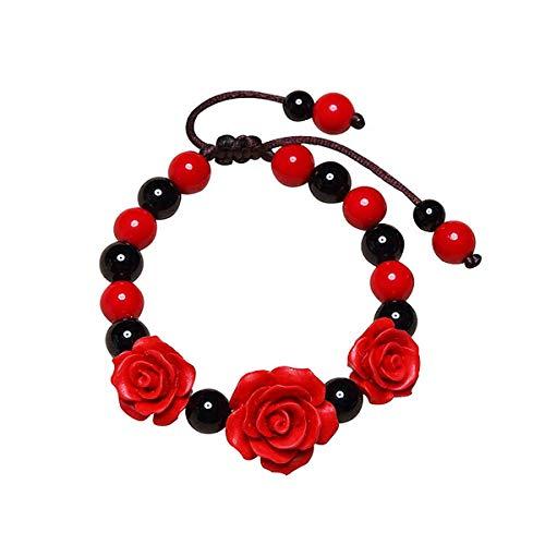 WFYJY-In Diesem Jahr Armband Retro Red String-String Den Wind-Und Hand-Dekoration Mode-Joker Zubehör Personalisierte Geschenke.
