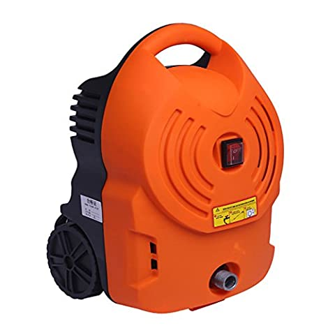 1700W Portable Electric Water Cleaning Tool for Home Use (Orange)