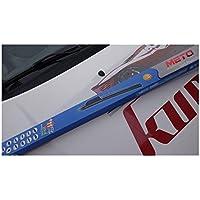2 x Escobillas limpiaparabrisas flexibles de goma para coche Citroen C4. Juego delantero.
