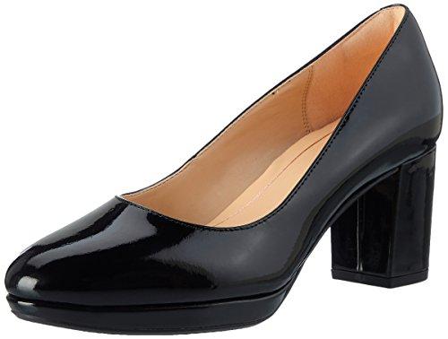 Clarks Damen Kelda Hope Pumps, Schwarz (Black Pat), 39 EU