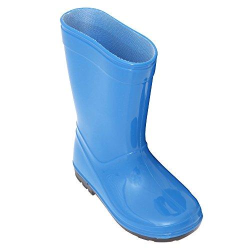 Bottes en caoutchouc - Enfant unisexe Bleu