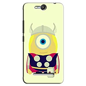 CARTOON THOR BACK COVER FOR MICROMAX CANVAS JUICE 3