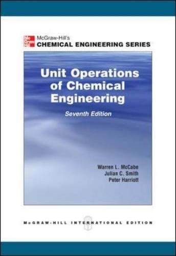 Unit Operations of Chemical Engineering (Int'l Ed) por Warren Mccabe