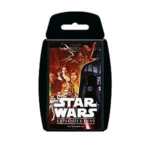Winning Moves 000468-Juegos de Cartas Top Trumps Star Wars 4-6, versión Italiana